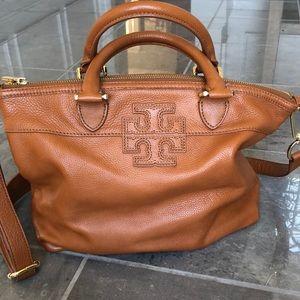 Tory Burch leather satchel bag